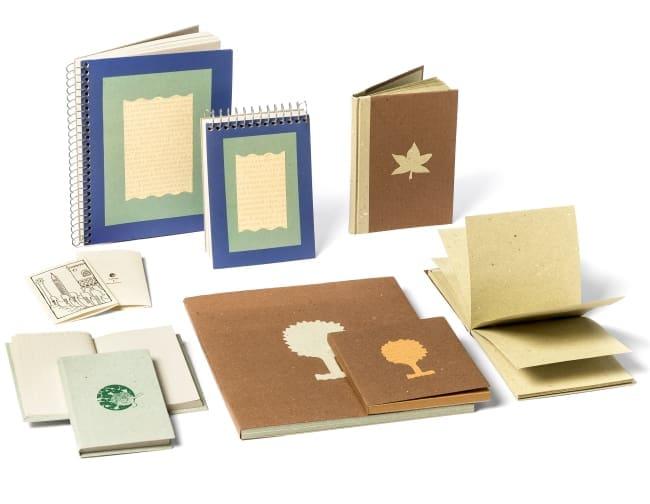 Nature&Découvertes, Arbos, carta riciclata