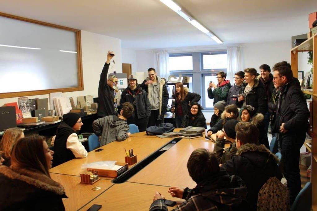 TG BASSANO racconta l'incontro degli studenti con Arbos