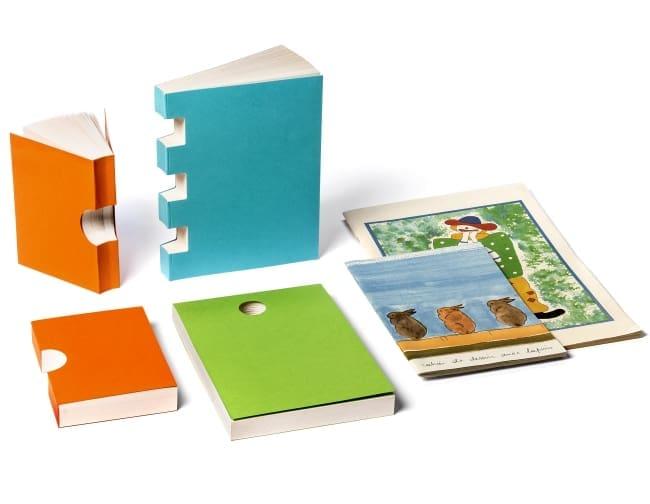 Quaderni, taccuini, giochi in carta riciclata Arbos